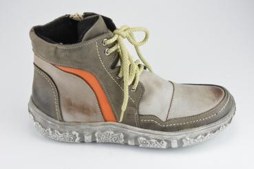Eisenhardt Knöchelschuh grau orange